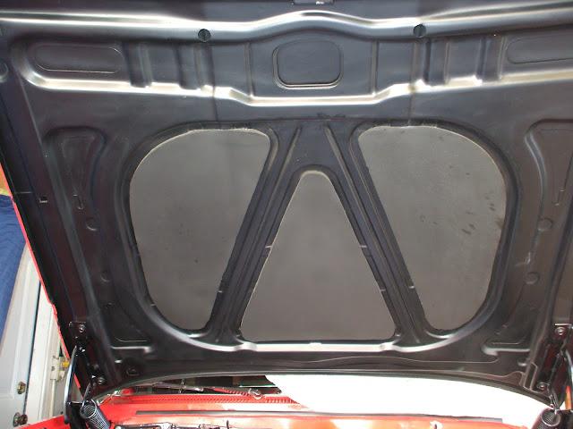 1961  impala  hood insulation