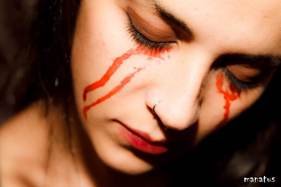 manatus lágrimas sangre