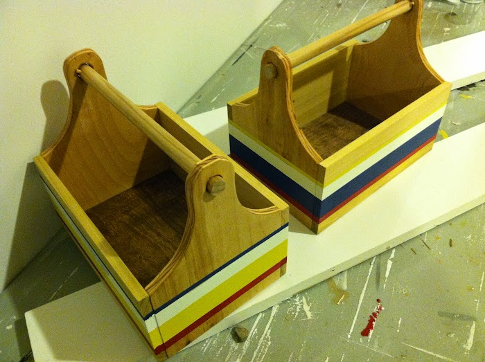DIY boys tool trugs tool boxes