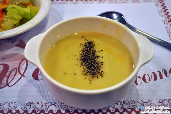 幸福牛排玉米濃湯