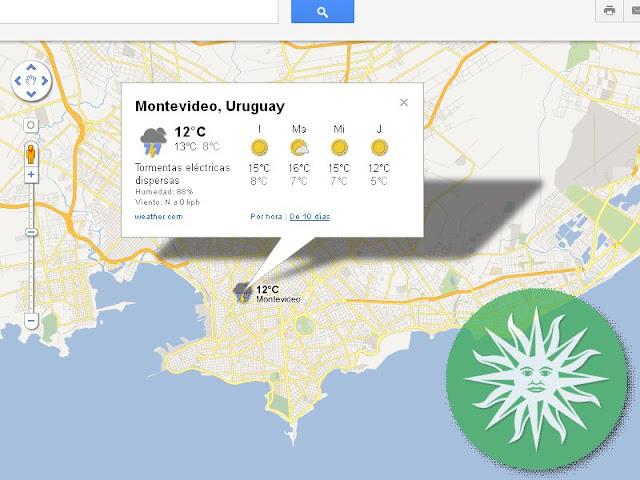 El clima en Uruguay para los próximos 5 días
