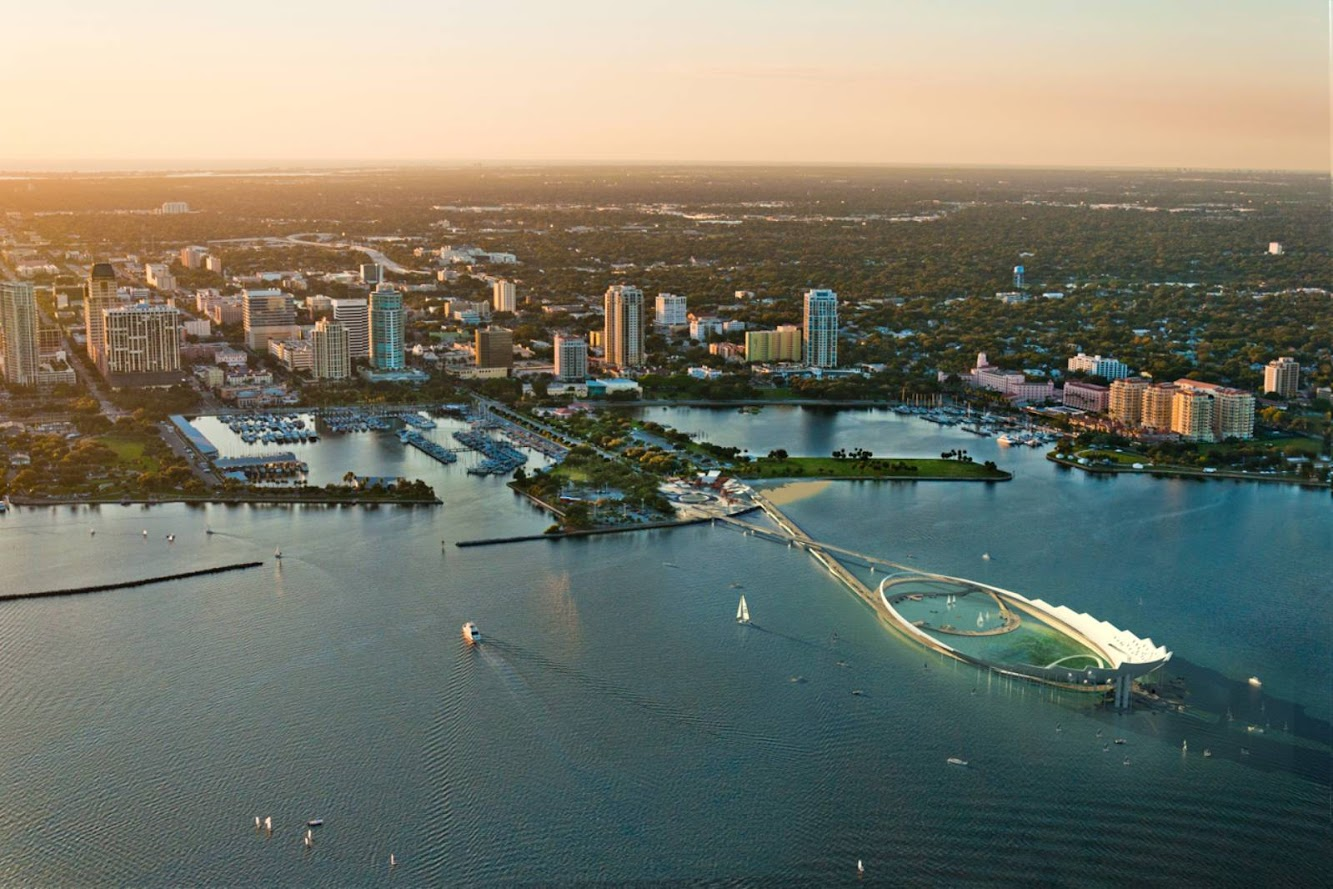 St. Petersburg, Florida, Stati Uniti: ST. Petersburg Pier by Michael Maltzan Architecture
