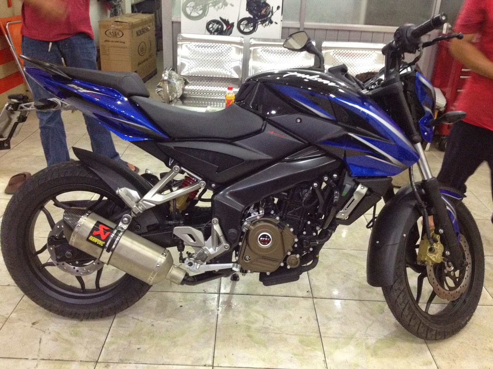 Bajaj Pulsar 200NS Custom