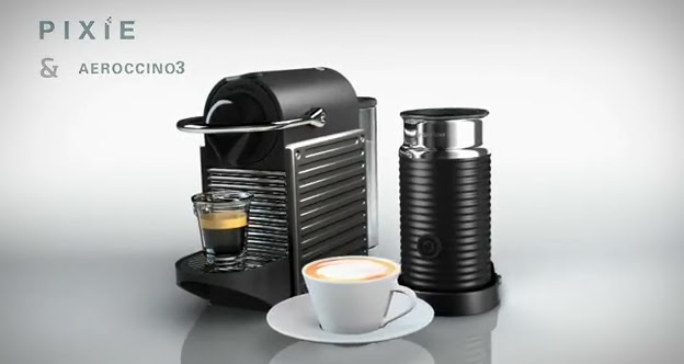 terjual nespresso pixie krups titanium grey affordable coffee machine kaskus. Black Bedroom Furniture Sets. Home Design Ideas