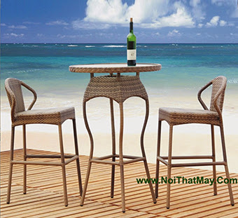 Outdoor Wicker Bar Set Minh Thy 816