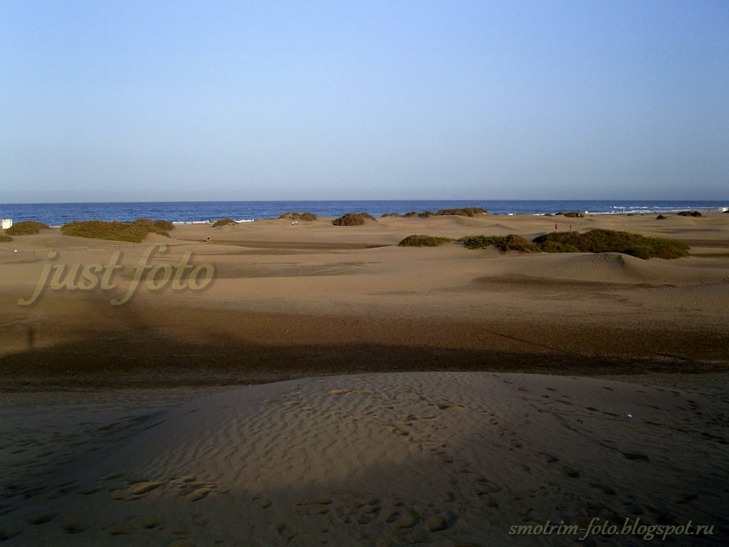 Атлантический океан на Гран Канария фото