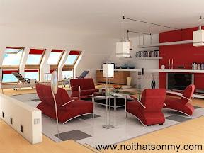 Mẫu thiết kế nội thất phòng khách 325