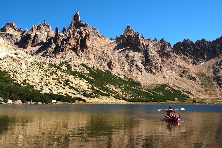 Frey refuge lagoon, Bariloche
