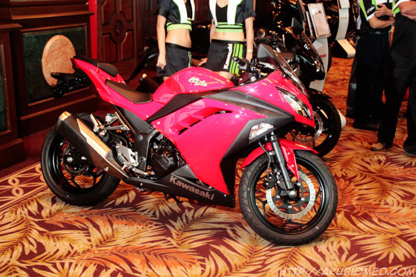 red ninja 250