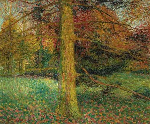 Leon De Smet – Fôret d'automne, Sint-Martens-Latem