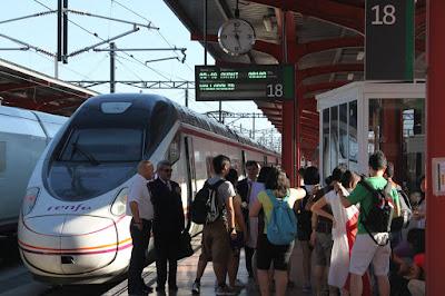 Estação de trem Madrid-Chamartín - Espanha