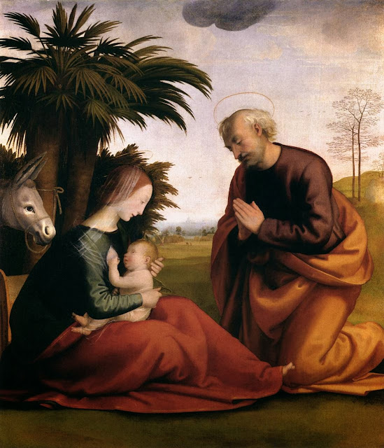 Fra Bartolomeo - Rest on the Flight into Egypt