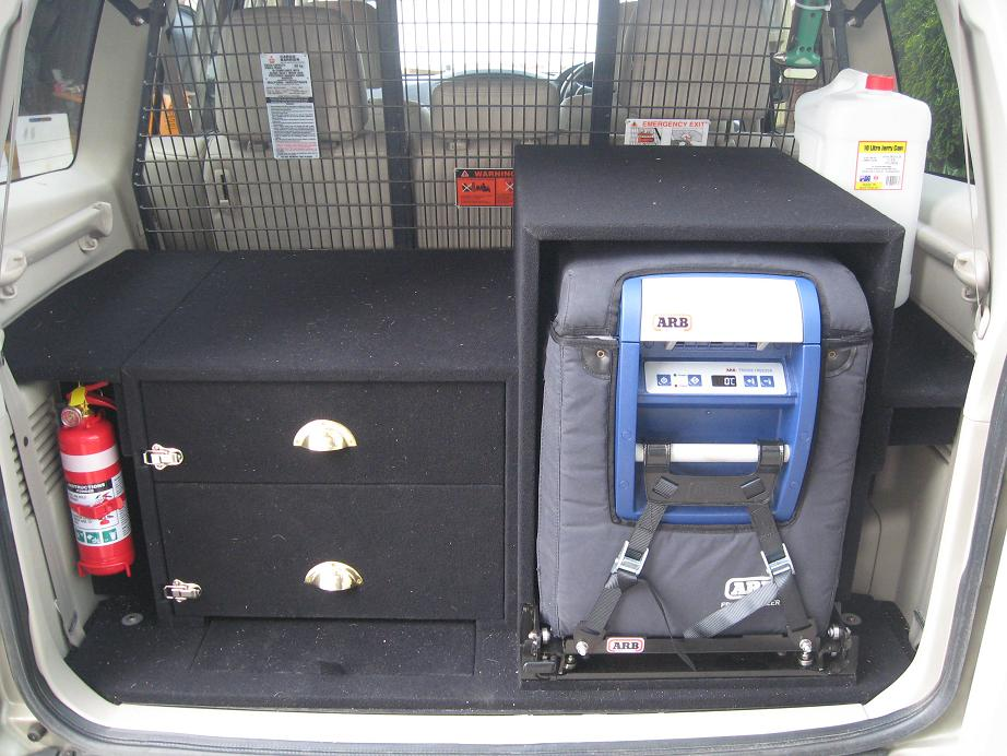 Another Home Made Rear Storage Amp Fridge Pajero 4wd Club