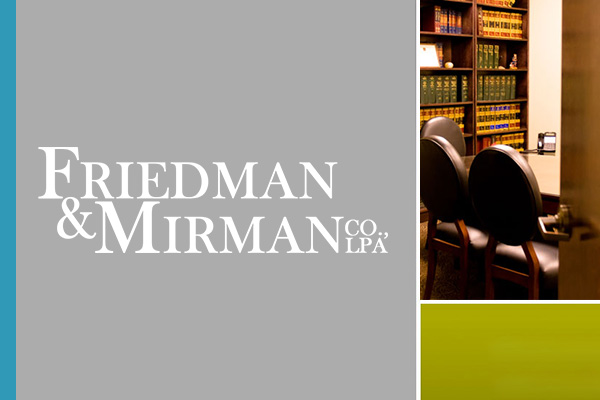 Family Attorney Columbus Ohio Friedman & Mirman Co. LPA Logo