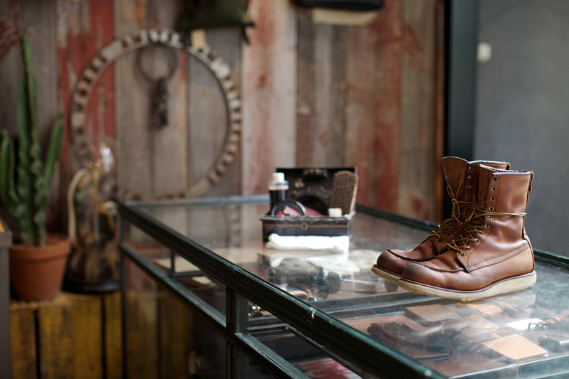 Let Red Wing Teach You the Proper Shoe Care
