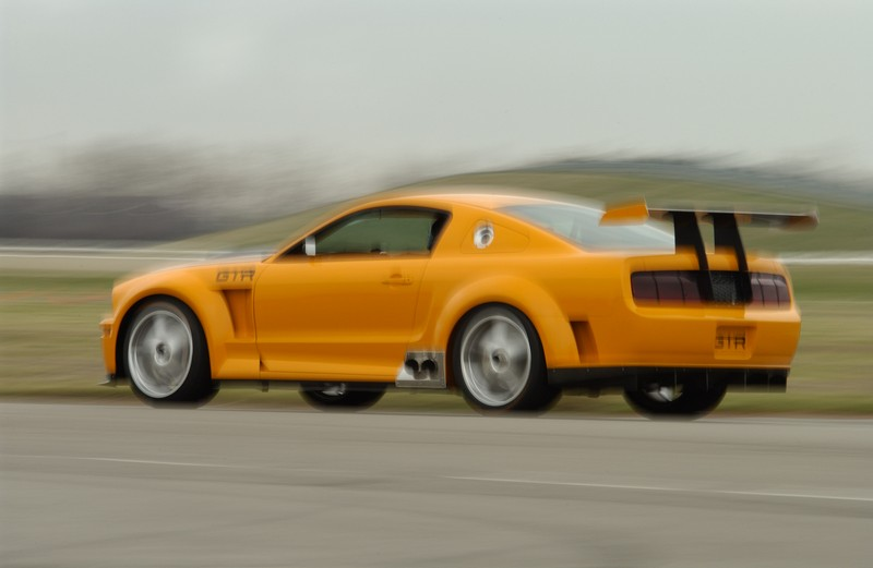 Ford Mustang Gt R Concept