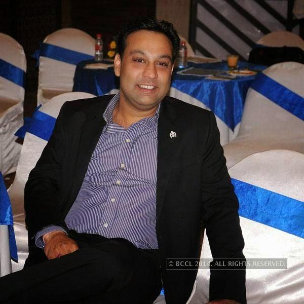 Dushyant Mhaisalkar during Round Table's AGM, in Nagpur.