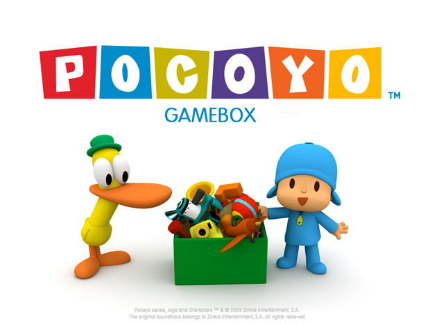 pocoyo gamebox