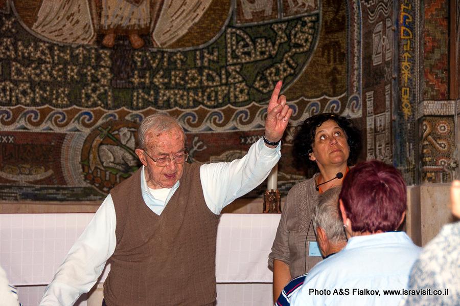 Церковь св. первомученика Стефана в Бейт Джамаль. Гид экскурсовод в Израиле Светлана Фиалкова.