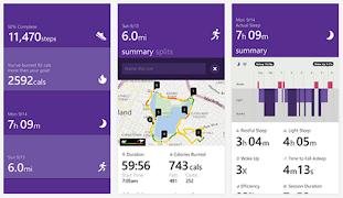Microsoft Health android app