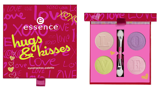 essence hugs & kisses – eyeshadow palette