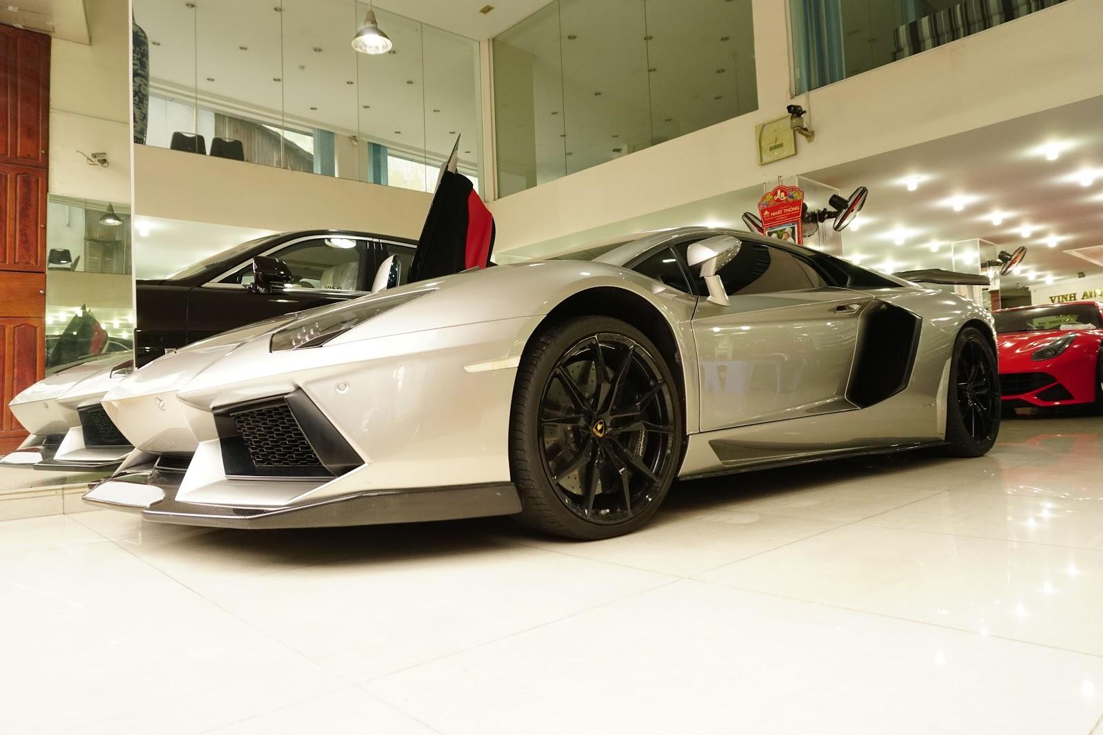 Lamborghini Aventador độ DMC