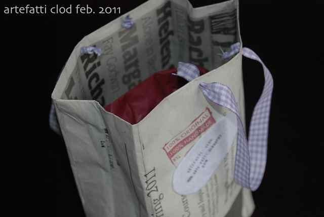Artefatti pacchetto regalo tutto ricicloso for Tutto in regalo
