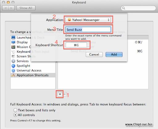 Cách Buzz Yahoo trên Mac OS - Image 3