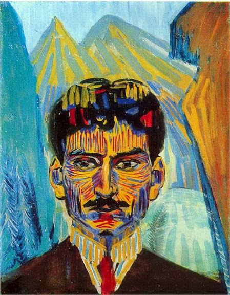Martiros Saryan - Self-portrait, 1909
