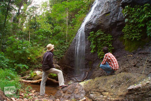 Obyek foto menarik dekat Curug Benowo, di Desa Bener, Purworejo, Jawa Tengah