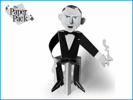 Frank Sinatra Papercraft