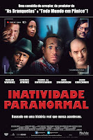 Resenha e cartaz do filme Inatividade Paranormal (A Haunted House), de Michael Tiddes