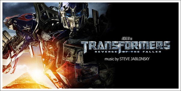 Transformers: Revenge of the Fallen (Soundtrack) by Steve Jablonsky (Review)