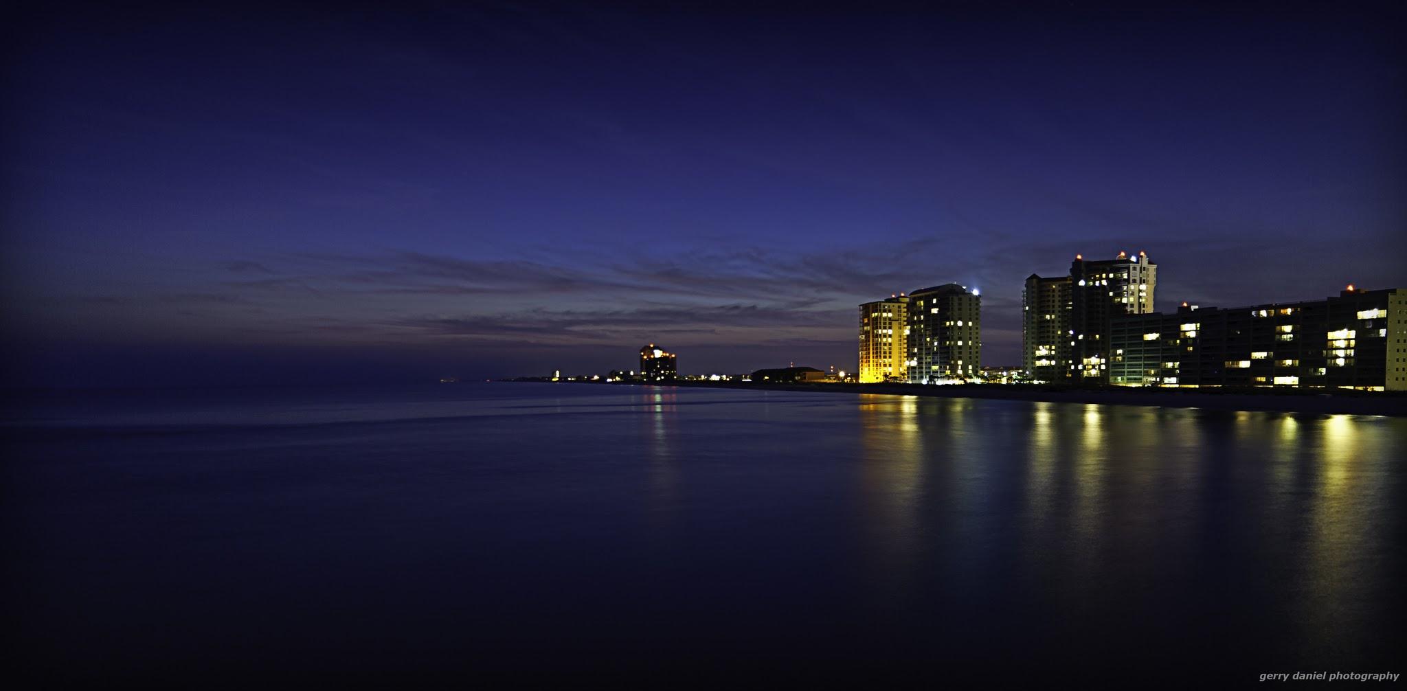 SeaTuesday Night Landscape Florida
