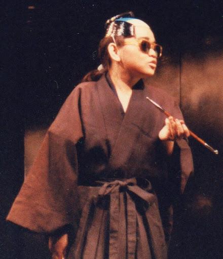 Yoko the master of Japanese Mafia ヤクザの親分に扮した伊藤 洋子