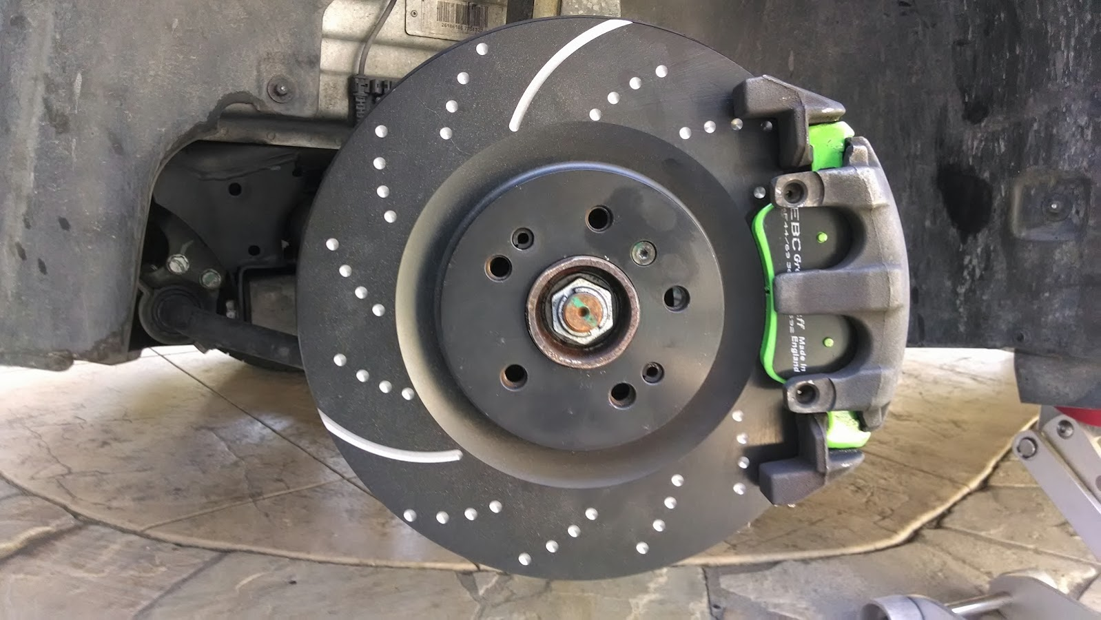 Diy rotors and brakes front forums for Mercedes benz rotors replacement