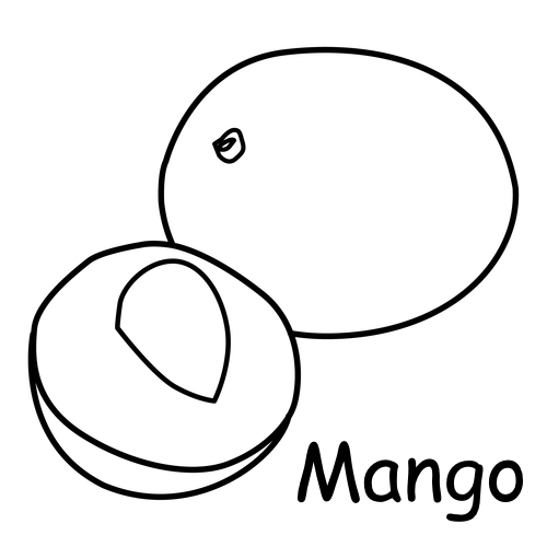 mango coloring pages - photo#33