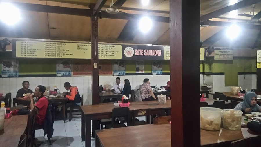 Sate Kambing and Ayam Samirono