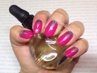 liverpoollashes liverpool lashes cnd shellac pink and silver nails blogger bblogger
