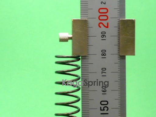 ロングストローク圧縮バネ(タワミ量110mm)
