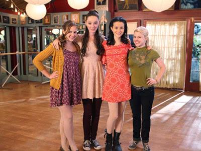 Bunheads: Boo, Mel, Sasha and Ginny