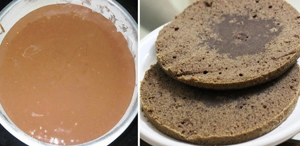 Nutella Layer Cake Recipe | Best Ever Chocolate Nutella Layer Cake | Written by Kavitha Ramaswamy of Foodomania.com