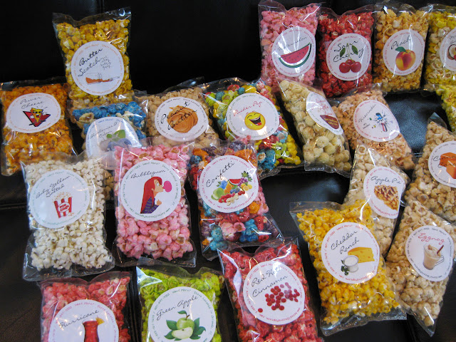 Bags of Kernel Encore popcorn