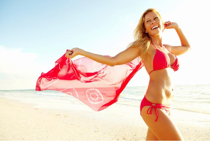 Consejos para lucir un abdomen plano en estas vacaciones