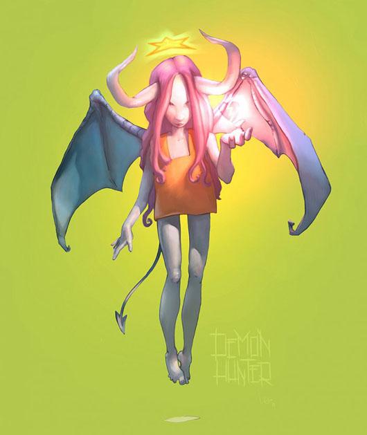 Demon Hunter, de Luis Gomez Guzman