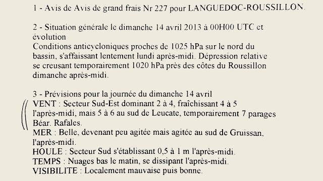 Régate du critérium Aude_PO 14 avril 2013 Canet-en-Roussillon