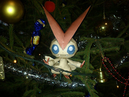 Pokemon Victini Paper Model