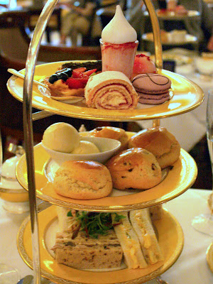 Afternoon tea at the Goring hotel in London