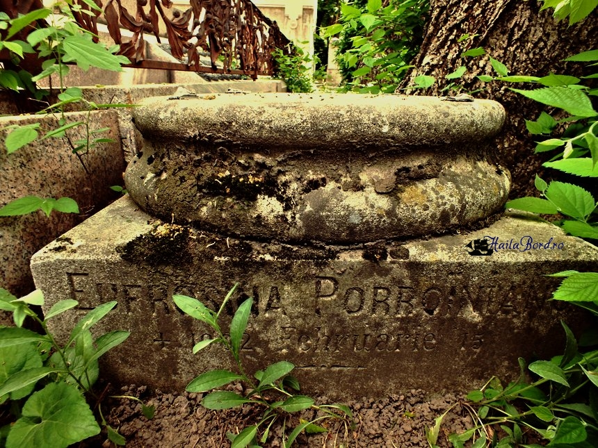 eufrosina poroineanu cimitir bellu
