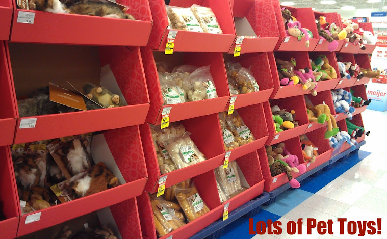 Shopping for Pet Gifts and Stocking Stuffer Ideas at Meijer